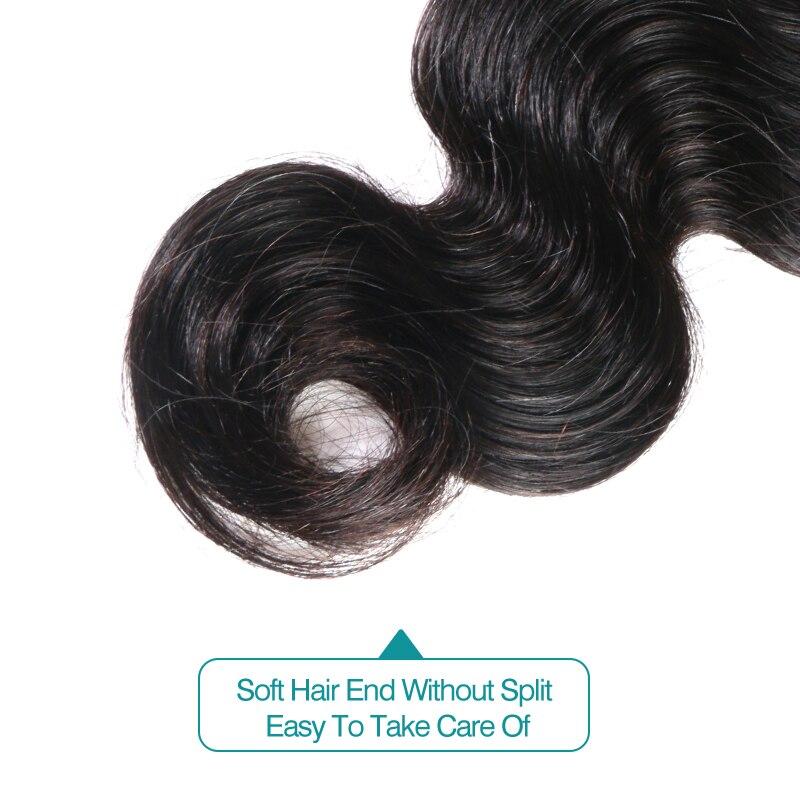 Ali Fumi Queen Hair Products 10Pcs/lot Body Wave Human Hair Weaving Natural Color Remy Hair Peruvian Hair Weave Bundles