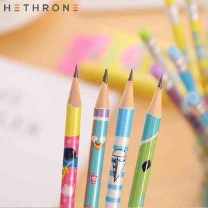 Image 5 - Hethrone 12Pcs Dier Houten Potloden Voor School Student Schrijven Tekening Potlood Set Kleurpotloden Schets Graphite Lapices School Items