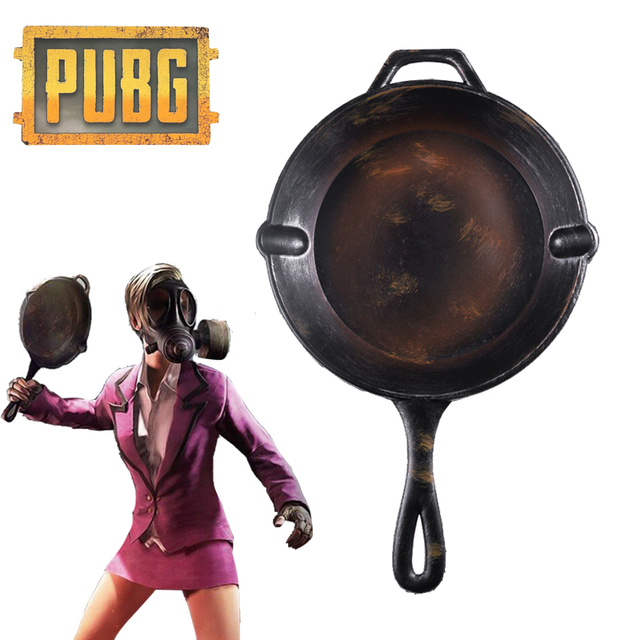 SNAILIFY Hot Mobile Game PUBG Cosplay Props PU Weapon Pan Costume Comic-con Playerunknown's Battlegrounds Gift for Kids 1