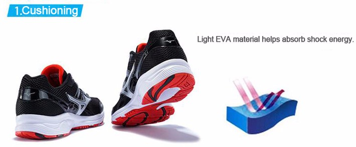 MIZUNO Men SPARK Mesh Breathable Light Weight Cushioning Jogging Running Shoes Sneakers Sport Shoes K1GR160370 XYP303 3