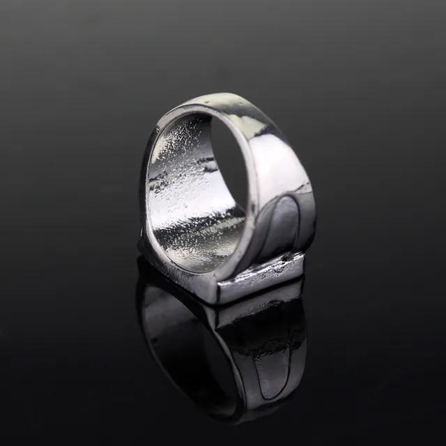 Fashion Metal Mens jewelry Game of Throne Ring House Targaryen Dragon Logo Rings Cocktail Party Ring Enamel Jewelry
