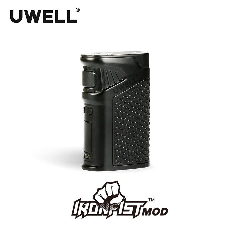En stock!!! UWELL ironpoing Mod 5-200 W puissance Mod 18650 ou combinaison de Charge USB pour Kit ironpoing 8 couleurs (sans batterie)