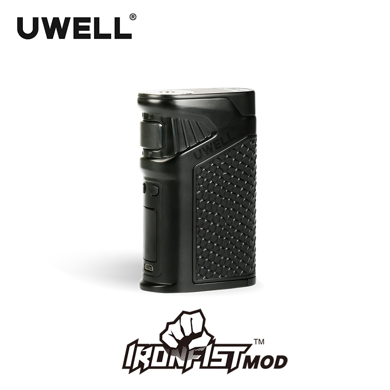 цена In stock!!! UWELL IRONFIST Mod 5-200W Power Mod 18650 Or USB Charge Suit For IRONFIST Kit 8 Colors (Without battery)