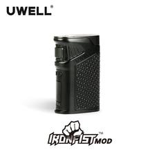 Na skladě!!! Modul UWELL IRONFIST Mod 5-200W Power Modus 18650 nebo USB nabíjecí oblek pro soupravu IRONFIST 8 barev (bez baterie) 180617