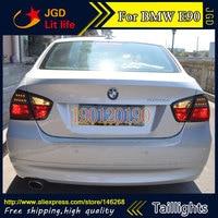 Задние фонари для BMW E90 316i 318i 320i 325i 2005 2008 LED фонарь задний багажник крышка лампы DRL + сигнала + Тормозная + обратный