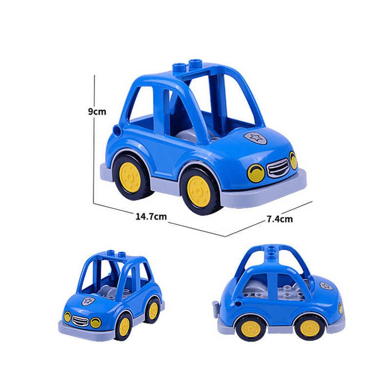 Blok Besar Mobil Pesawat Kompatibel dengan Anak Besar Blok Aksesoris Bagian Pencipta Saya Truk Mainan Anak Gadis Anak Hadiah