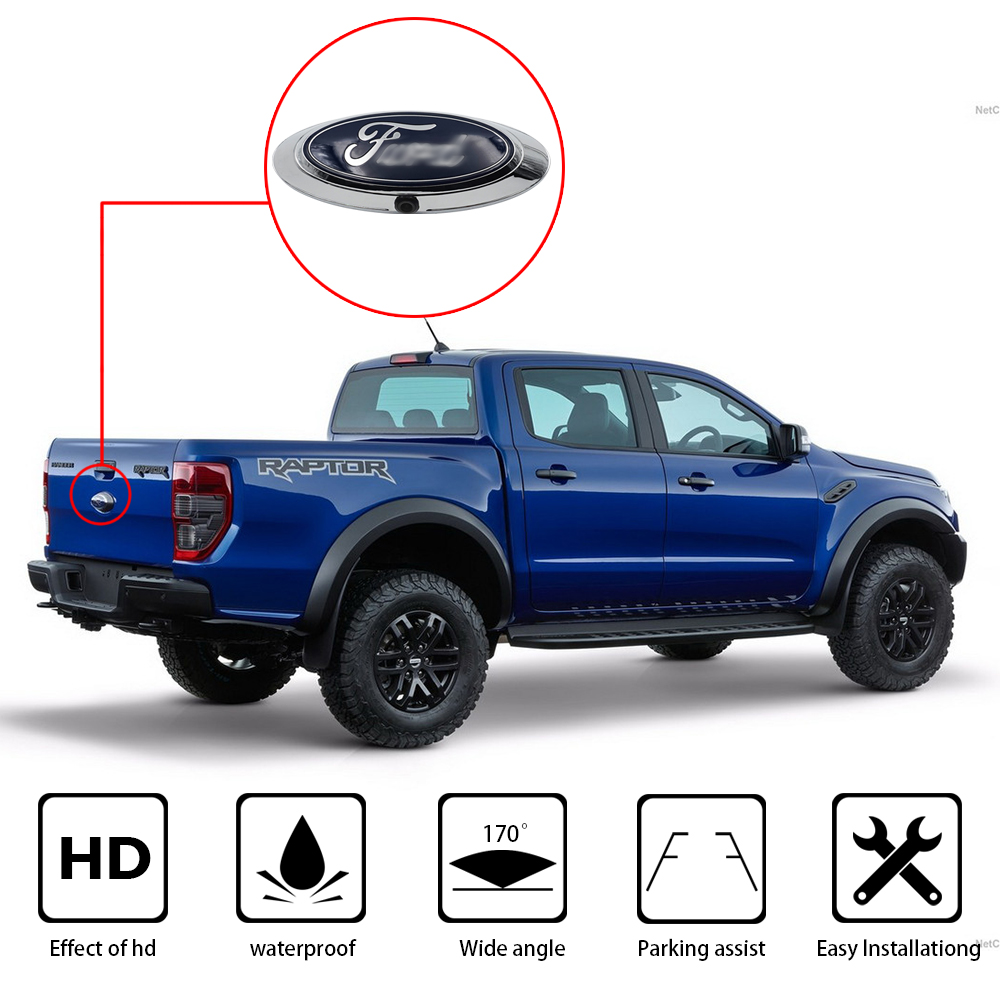 High Quelity Rearview Parking System Reverse Car Camera fit for FORD RANGER T6 T7 T8 XLT