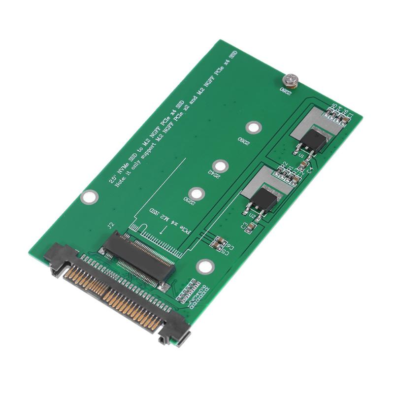 U.2/SFF-8639 NVMe PCI-E SSD to M.2 NGFF M Key SSD Converter Adapter Card for 2230/2242/2260/2280mm NGFF all 2 in 1 msata to sata ngff m 2 to sata iii sata3 converter adapter support msata m 2 ngff ssd solid state disk for desktop