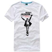 2017 new arrival fashion tee shirts MICHAEL JACKSON t-shirt MJ t shirt for men cotton hip-hop Rock  linkin park XS-4XL