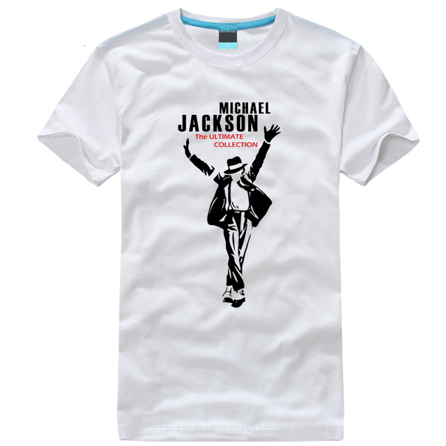 d626bdcc8a0d 2019 new arrival fashion tee shirts MICHAEL JACKSON t-shirt MJ t shirt for  men cotton hip-hop Rock linkin park XS-4XL