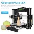 Geeetech 3d impressora impresora prusa i3 x 2016 newsest diy kit completo marco de acrílico de alta precisión lcd2004