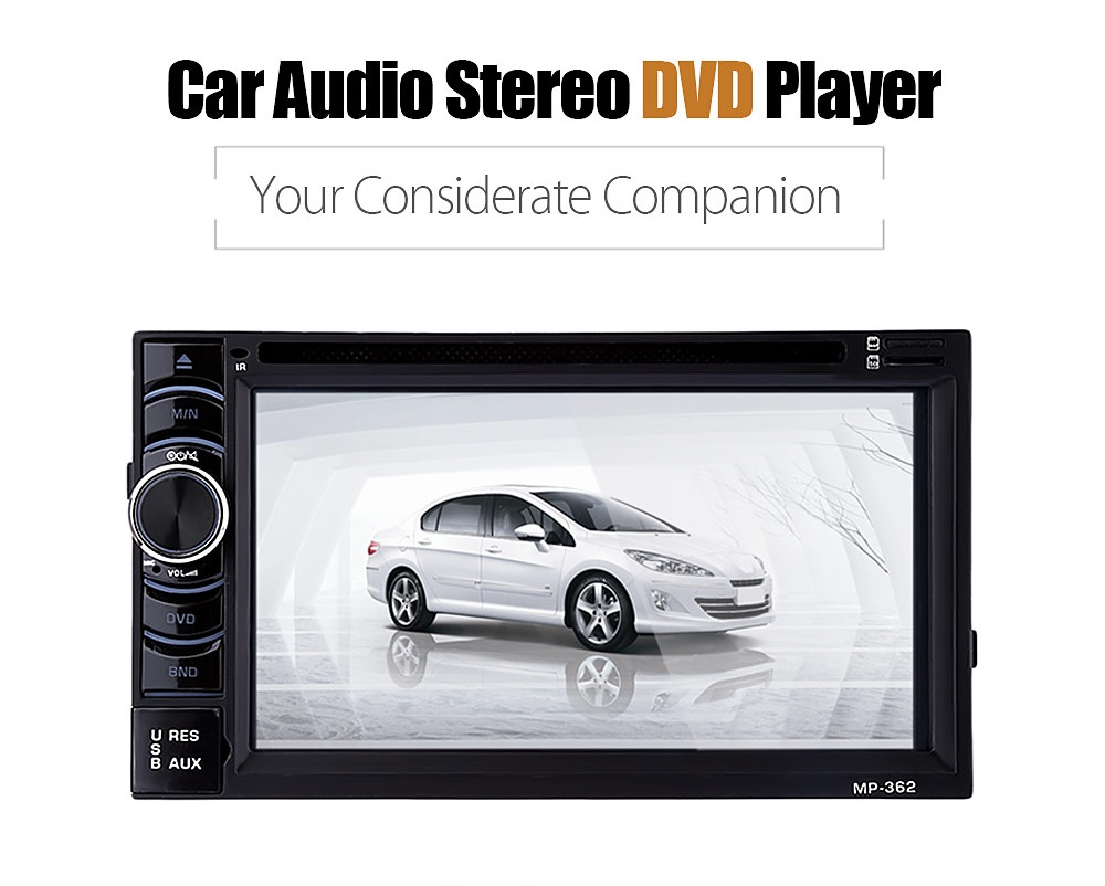 Universal 2 Din 1080P 6.2 Inch Car MP5 Player Car Audio Stere DVD Player Bluetooth Touch Screen 12V Remote Control with Camera блокада 2 dvd