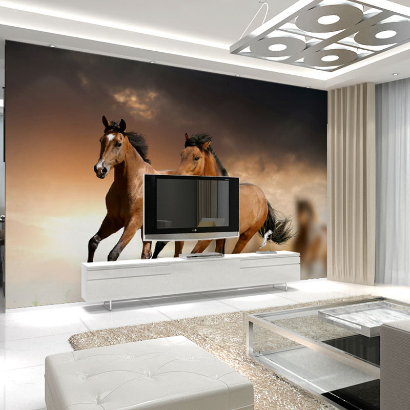 Horse Wall Murals online get cheap horse wall mural  aliexpress   alibaba  group. Mesmerizing 30  Horse Wall Murals Decorating Design Of Beautiful