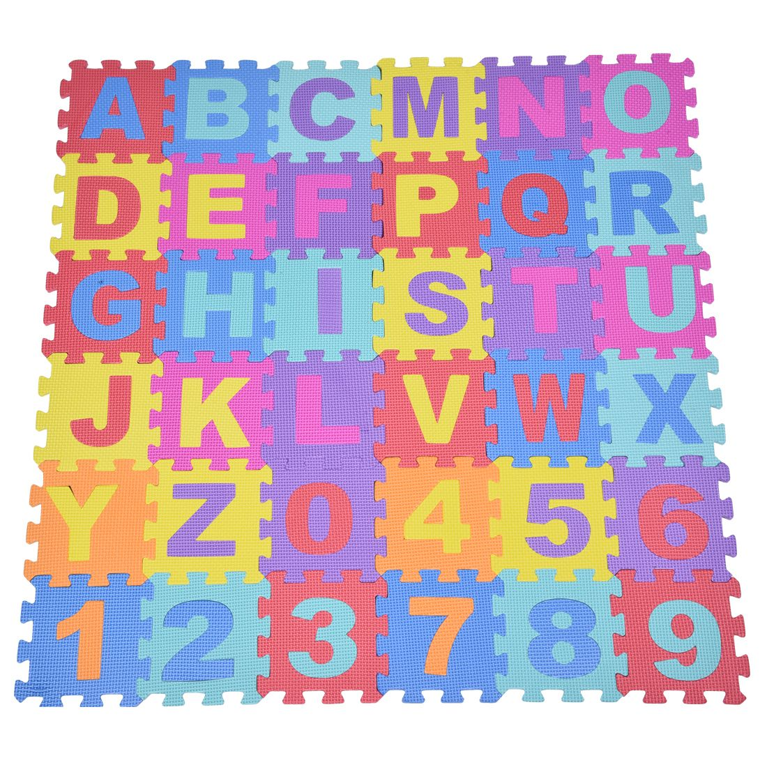 Exceptional 36pcs Soft EVA Foam Baby Children Kids Play Mat Alphabet Number Puzzle  Jigsaw(China (