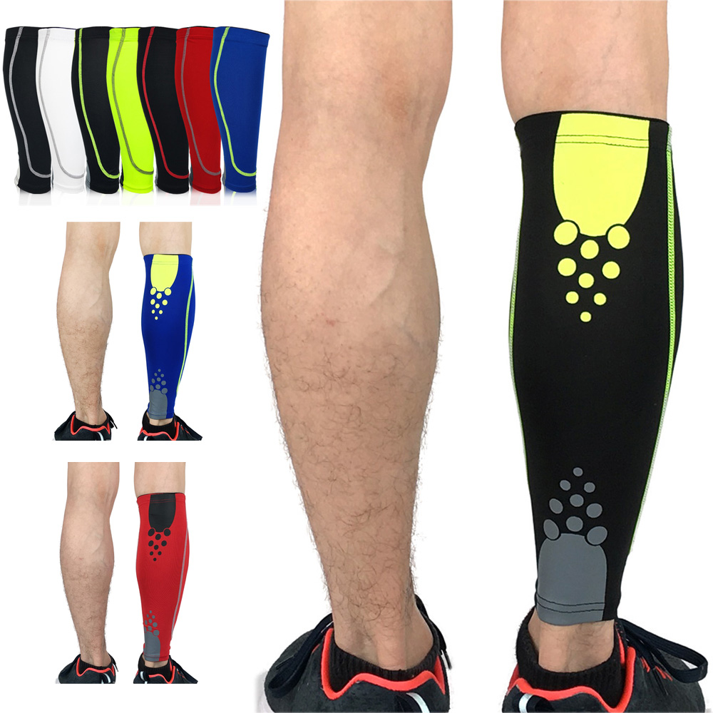 Sport Protection Leg Protector Calf Sleeve Leg Warmers Polka Dots Outdoor Sports SPSLF0046