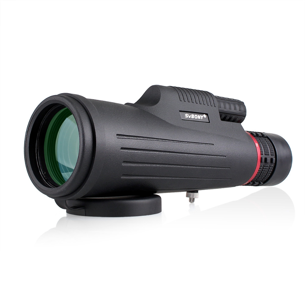 SVBONY SV12 Monocular 8-24x50 Zoom Telescope Fully Multi Coated BK7 Prism for Hunting Spotting Scope Compact F9325 stika sv 8