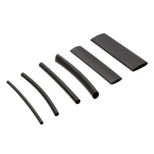 MYLB-53Pcs Heat Shrink Black Adhesive Glue Lined Tubing Tube Wire Wrap 3:1 Heatshrink.