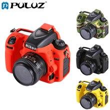 PULUZ мягкий силиконовый защитный чехол для Nikon D750 полый дизайн чехол Чехол для Nickon камера сумка