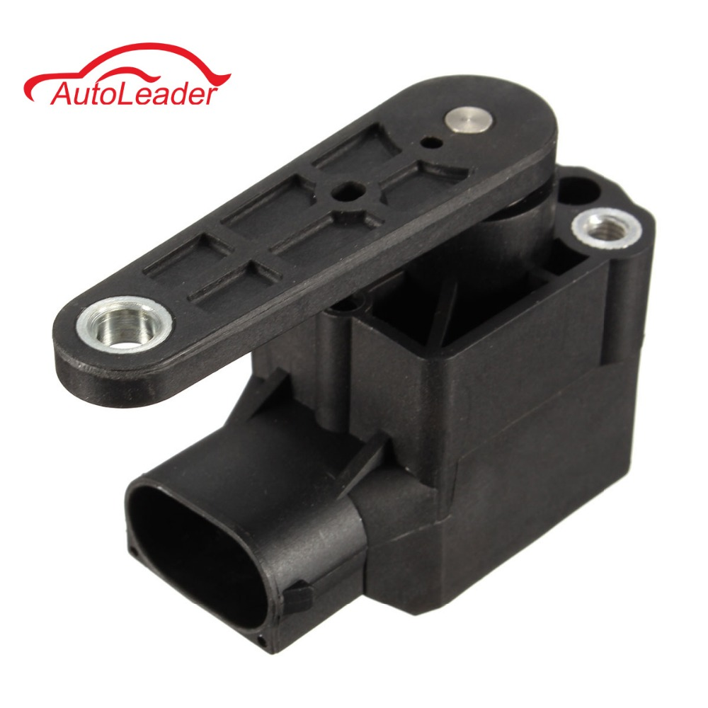 Black Xenon Headlight Level Control Switch Sensor For AUDI TT A3 A4 S6 A6 For VW Bettle Passat Golf 4B0907503 high quality 3c907503 4h0941286g 4h0941285g headlight level sensor for audi c6