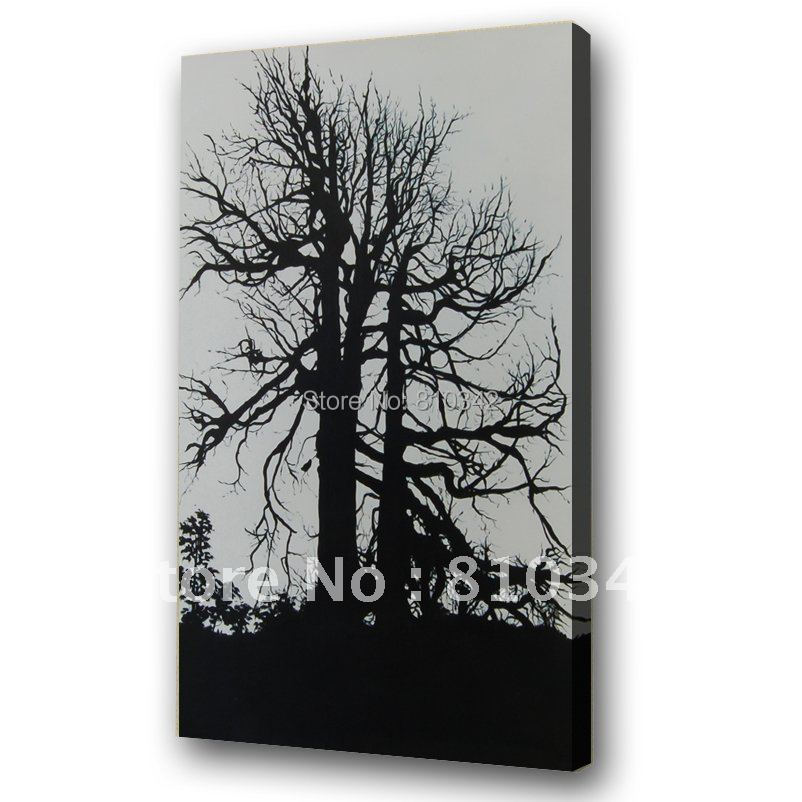 100% handmade oil painting reproduction artwork POP romantic tree