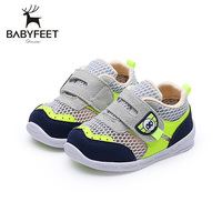 Babyfeet Toddler First Walkers Sneakers Breathable Shoe Baby Girl Boy Summer Cool Net Non Slip Soft