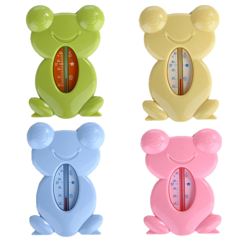 Lovely Fish Frog Plastic Water Temperature Thermometer Baby Water Thermometer Baby Bath Float Thermometer Tub Water Thermometer