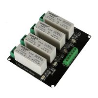 4 Channel SSR Solid State Relay High Low Trigger 5A 3 32V For Arduino UNO R3