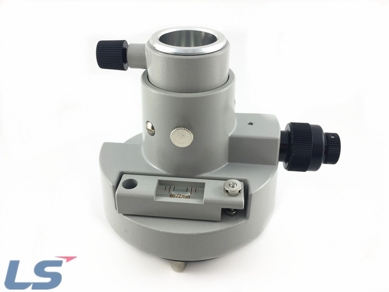 Gray Three-Jaw Tribrach Adapter With Optical Plummet For Sokkia Total Station Gray Three-Jaw Tribrach Adapter With Optical Plummet For Sokkia Total Station