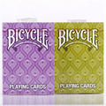 1 Deck Bicycle Peacock ( purple or green )Playing Cards Magic Tricks  props Poker magic Cards  81281
