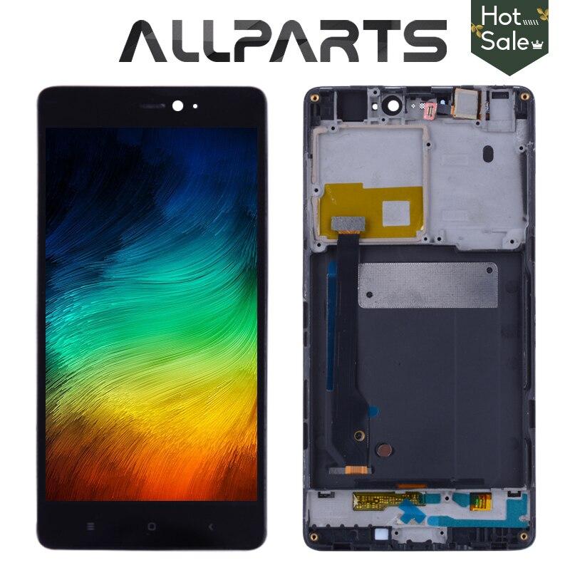 5,0 ips Дисплей Для Сяо mi 4 ЖК-дисплей Дисплей mi 4C ЖК-дисплей Сенсорный экран планшета с рамкой для сяо mi 4 4C 4i mi 4i ЖК-дисплей Дисплей