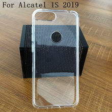 "Luxe Zachte Siliconen Telefoon Case Cover Voor Alcatel 1 S 5024D 2019 5.5 ""Back Covers Voor Alcatel 5024D 2019 coque Fundas Shell Capa(China)"