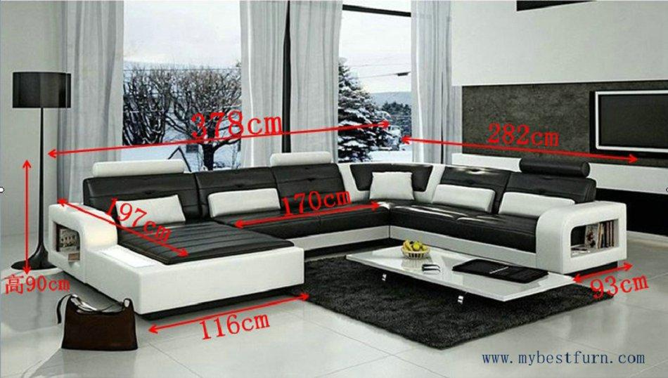 Luxus ledercouch  Meine BestFurn Sofa Modernes Design, Elegante couch luxus stil ...