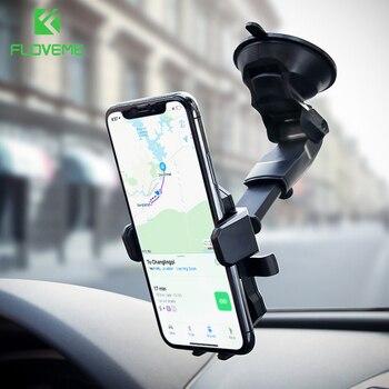 FLOVEME Universel De Voiture Support de Téléphone Pour iPhone X 7 Samsung S9 360 Rotation Réglable Support à Pour Téléphone dans la Voiture telefon Tutucu