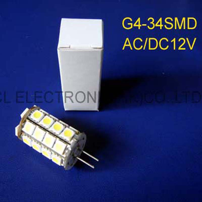 High quality 12V Led G4 Lamps GU4 Led Bulbs Led G4 lights AC/DC12V free shipping 2pcs/lot  high quality 12v gy6 35 led lights gy6 35 lights led g6 35 bulb g6 led free shipping 2pcs lot