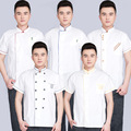 Chef Uniform Chef Jackets Chef Uniform Special Offer Cotton 2016 New Breathable Perspiration Service Men And The Same Paragraph