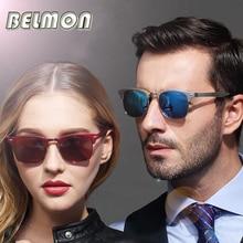 2018 Fashion Polarized Sunglasses Men Women Driver Brand Designer AL-MG Sun Glas