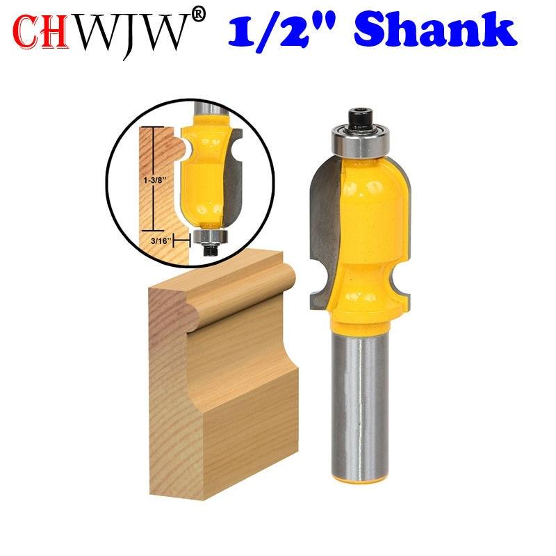 """1PC arhitektuurne vormimisruuter - 1/2 """"Shank Line nuga Puidutöötlemislõikur Puidutöötlemisnööri lõikur"""