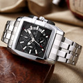 MEGIR Luxury Brand relogio masculino Full Steel Chronograph Mens Quartz Watch Business Watch Men Watches Military Army Clock