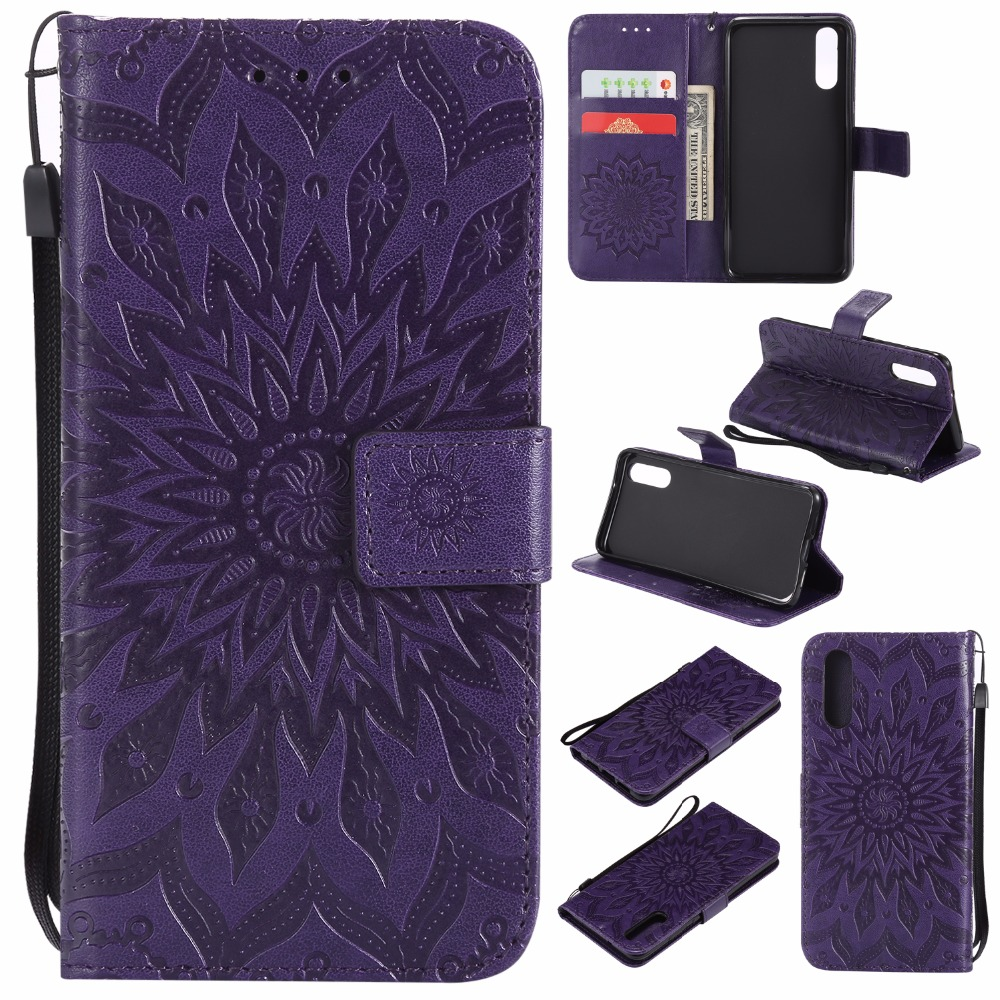 For Huawei P20 P20 Pro Cases Flip Leather Case Embossing Wallet Cover Skin Shell Stander Holder Fundas Capa with Card Slots in Wallet Cases from Cellphones Telecommunications