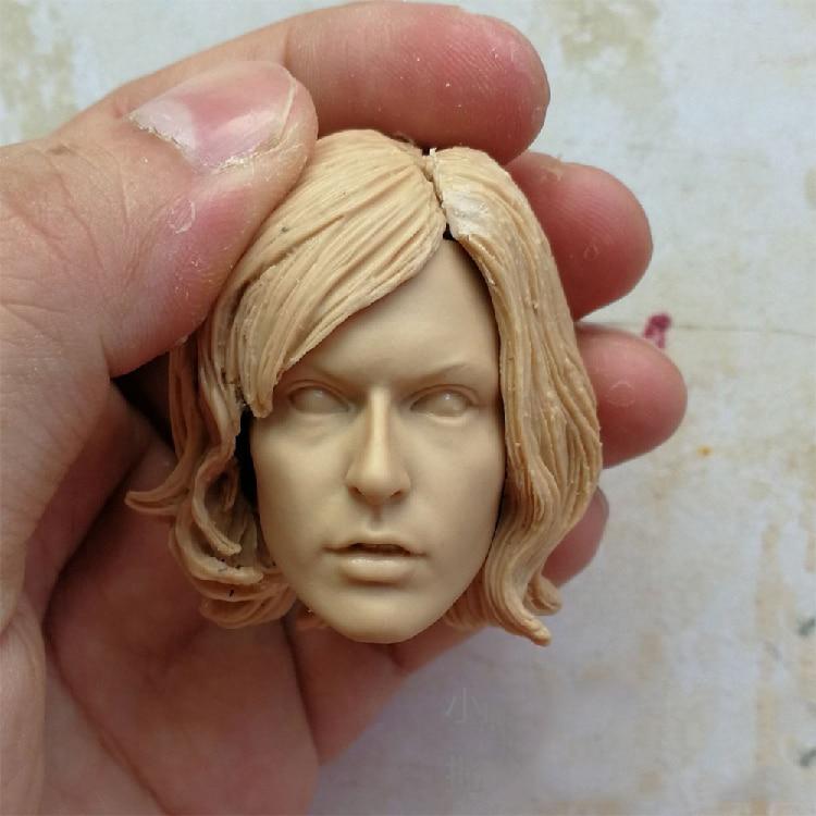 blank 1//6 scale Head Sculpt Alice unpainted