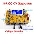 10A DC-DC Buck Convertidor Ajustable CC CV 7 V-36 V Step-down a 1.5-35 V fuente de Alimentación del Regulador de Voltaje 12 v 5 v + LCD volt amperímetro