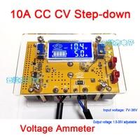 10A DC DC Buck Converter Adjustable CC CV 7V 36V Step Down To 1 5 35V