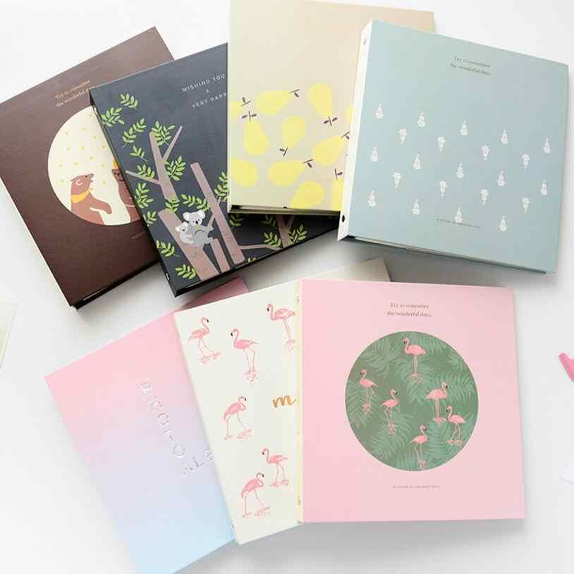 6 Inch 100 Pockets Mini Instant Polaroid Photo Album 15.2x10.2CM Picture Case Storage Fujifilm Instax Mini Card Insert Album Hot