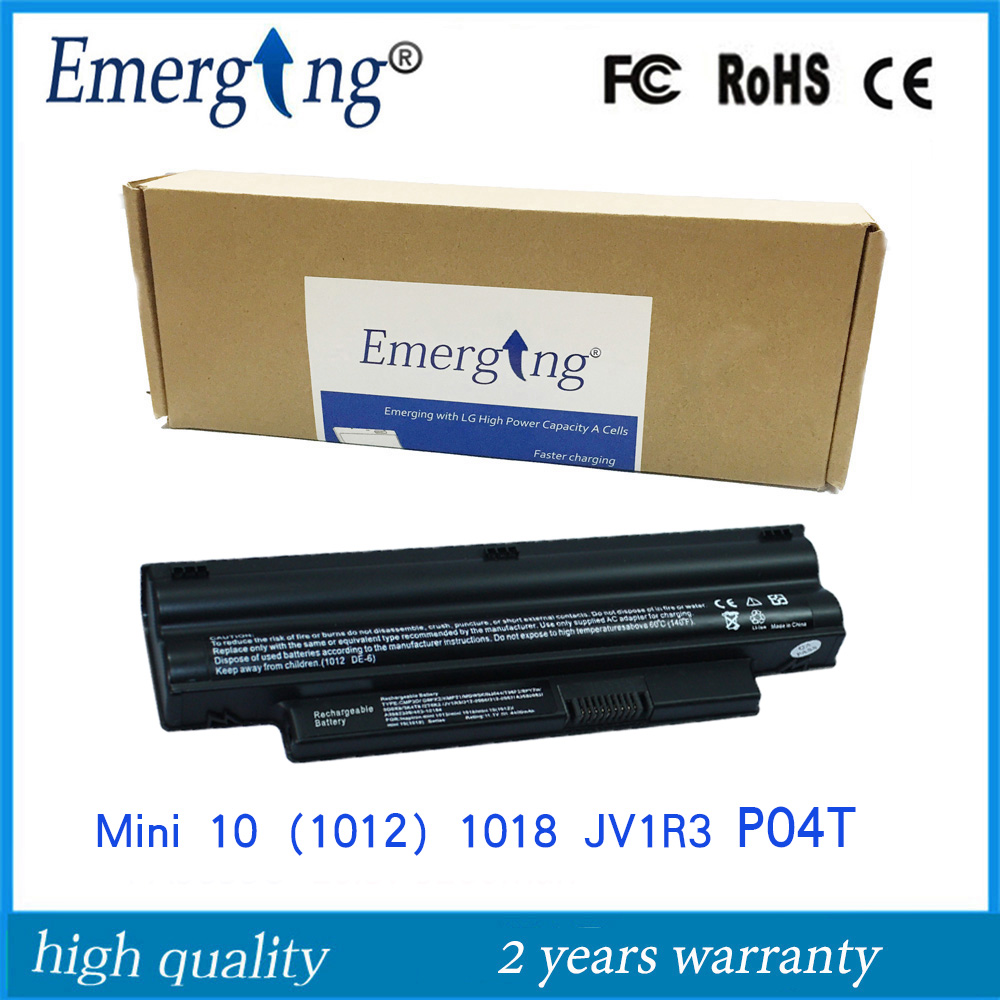 6cells 11.1V New High Quality Laptop Battery for Dell Inspiron Mini 10 1012 312-0966 G9PX2 1012n mini1018 MIMI10-1018 все цены