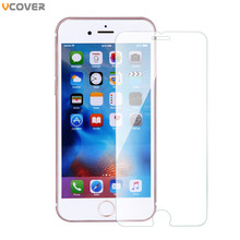 Vcover guard se tempered protective front film protector glass screen plus