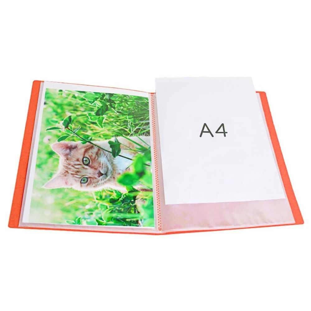 TIANSE Многослойные файл папка A4 вставка для книги с отрывными листами студент информационный листок музыкальная папка книгу 60 страниц