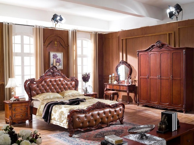 Us 1700 0 Classical Bedroom Furniture Sets High End Solid Wood Bedroom Sets Furniture 6006 In Beds From Furniture On Aliexpress Com Alibaba
