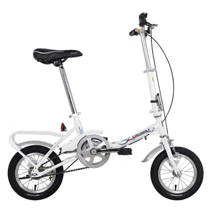 [TB02]Mini 12 Inch Men And Women Children Portable Primary School Small Wheel Small Folding Bicycle GOGO Bicycle