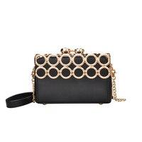 Designer Women Square Box Bag Famous Brands Clutch Evening Party Bags Luxury Messenger Shoulder Bags Women