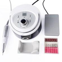 30000RPM LCD 35Wเครื่องเจาะเล็บไฟฟ้าเล็บเท้าเครื่องมือไฟล์อุปกรณ์เสริมเครื่องบดเครื่องมืออุปกรณ์เล็บ